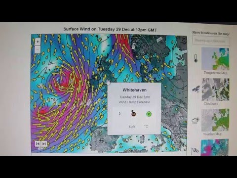 Storm Frank UK Ireland Europe Weather next 10 Days - 29/12/2015