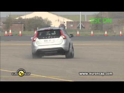 Euro NCAP | Volvo V60 | 2012 | Электронный контроль устойчивости
