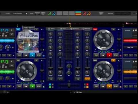 skin 4 decks virtual dj 8 al estilo vicmancia