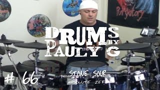 Stone Sour - Absolute Zero (Drum Cover) by Paul Gherlani