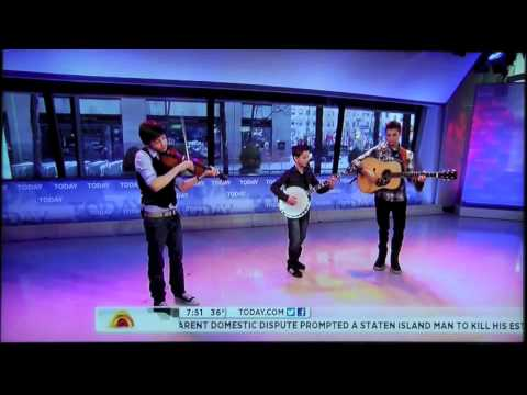 Sleepy Man Banjo Boys - Today Show