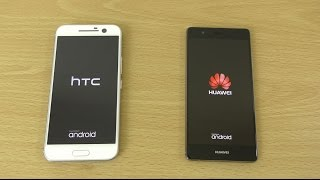 HTC 10 vs Huawei P9 - Speed & Camera Test!