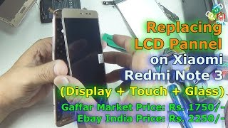 [Hindi-Audio]-Replacing LCD Xiaomi Redmi Note 3