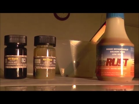 Undercoating review for NH oil vs HinderRust part 1, January