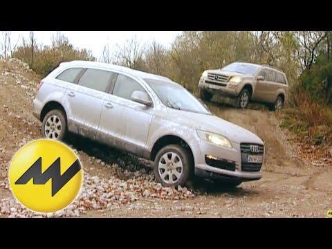 Audi Q7 3.0 TDI vs. Mercedes GL 320 CDI: Dicke Premium-SUVs im Vergleich