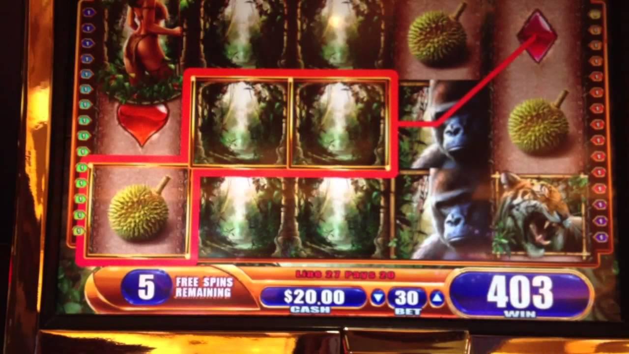 slot machine with bonus games