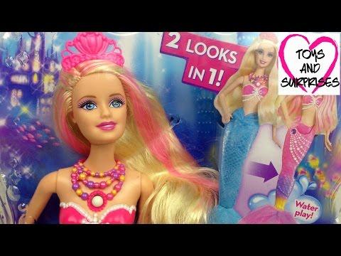 Кукла Барби Русалка Жемчужная принцесса Barbie игрушки для девочек