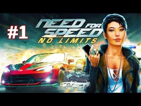 Need for Speed No Limits #1 ПЕРВЫЕ ШАГИ Геймплей Прохождение  Gameplay Walkthrough Part 1