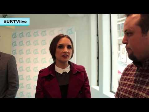 Rachael Leigh Cook interview - UKTVlive 2014 London