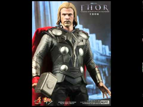 HOT TOYS THOR MOVIE FIGURE