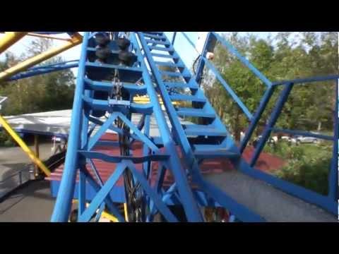Wild Train Pax Roller Coaster POV Erlebnispark Strasswalchen Austria