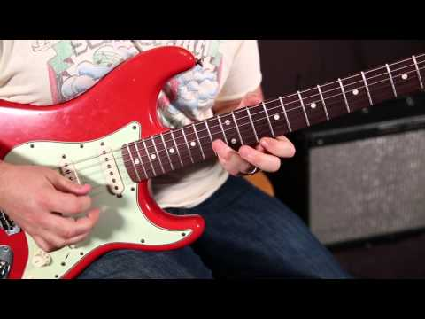 Speed Building Pentatonic Lick - Blues Rock Guitar Lessons - Soloing