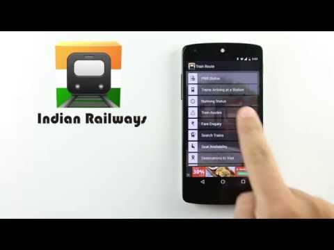 Indian Railways train enquiry APK Cover