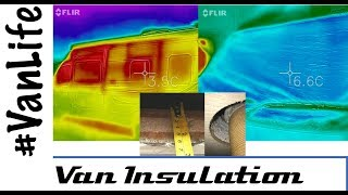 How good is your Van Insulation and Windscreen blinds - Thermal Imaging - Campervan - Motorhome