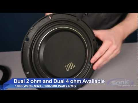JBL MS Slim Series Shallow Mount Subwoofer