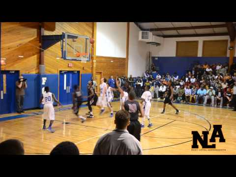 Trinity Christian School vs  Fayetteville Christian School 2013-2014 Season opener highlights - 11/20/2013
