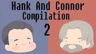 Hank And Connor Detroit Become Human [Comic Dub Compilation 2!!]
