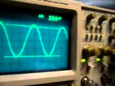 Tektronix 2465 problems.MP4
