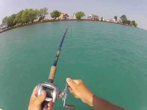 Muskie fishing with the bondy bait youtube for Fishing license for disabled person