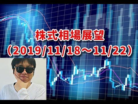 【日経平均 相場展望 2019/11/18週号】押し目を拾って、株価の年末高祭りに備えましょう!