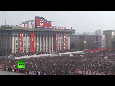 Thousands celebrate Kim Jong-un's re-election as N. Korea defense chair