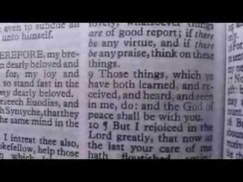 Philippians 4 Holy Bible (King James)