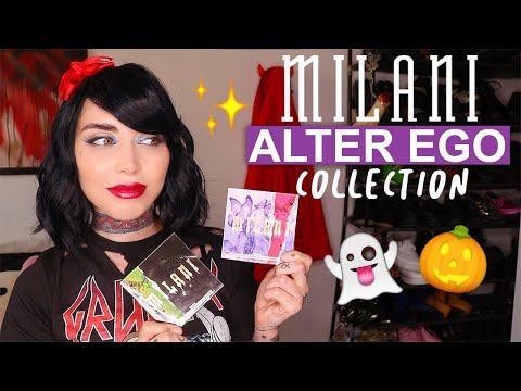 MILANI ALTER EGO HALLOWEEN COLLECTION | REVIEW + SWATCHES | DUPETHAT ITSKANDL