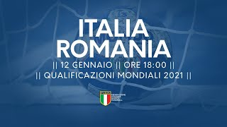 Qualificazioni Mondiali 2021: Italia - Romania 24-29