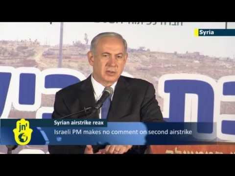Israeli PM Netanyahu silent on reports of latest Israeli airstrike in Syria