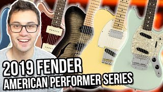 New Fender American Performer Series, Chapman ML3 Semi-Hollow & F***ing Awful Reviews || ASKgufish