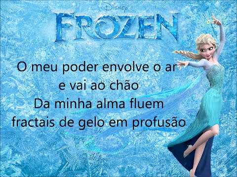 Livre Estou (Let It Go - Brazilian version) Lyrics/Letra