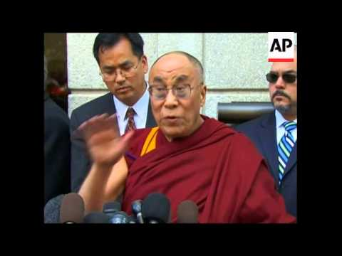 WRAP Dalai Lama at White House; Tibetans, State Dpt, vox pops
