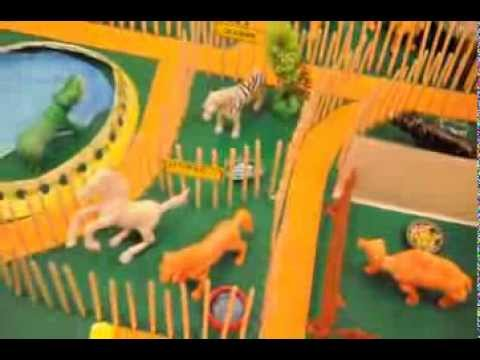 Zoo Model For School Project a Project on Model of Zoo With