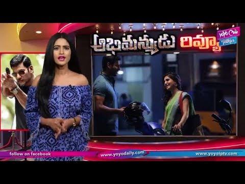 Abhimanyudu Movie Review And Rating | Vishal | Samantha | Arjun | Tollywood | YOYO Cine Talkies