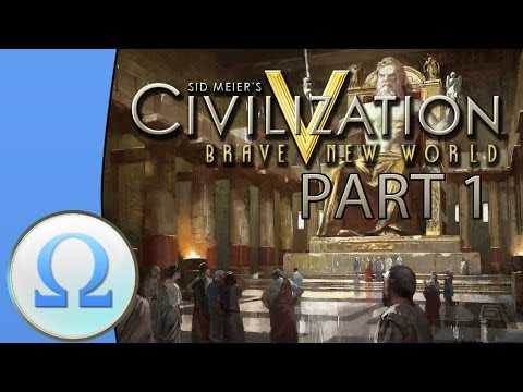 Let's Play Civilization 5 Multiplayer Gameplay - Greece - Part 1: A Fresh Start