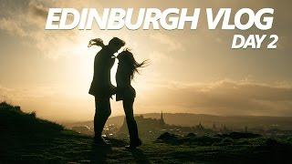 PrettyGeeky Vlog 7: Europe Trip - Edinburgh Day 2; Loch Lomond, Stirling Castle, Aurthur
