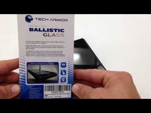 Tech Armor Ballistic Glass Screen Shield Review for iPhone 5s