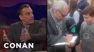 Sebastian Maniscalco: My Dad Sells My Book At His Hair Salon  - CONAN on TBS