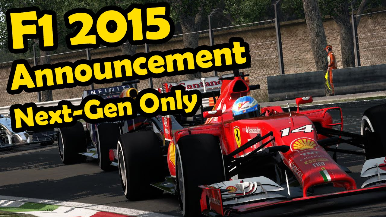 F1 2015 Game Announcement