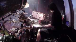 ARCH ENEMY Daniel Erlandsson - As The Pages Burn (Drum-Cam)