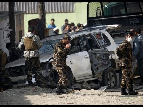 Iran's MOIS Bomber targets Afghan election official  Hawliya Rodwal