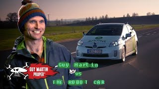 Guy tests a self-driving car | Guy Martin Proper