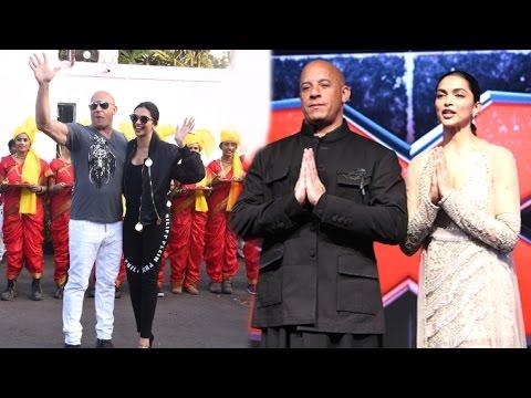 xXx: Return Of Xander Cage Movie Promotions In India | Vin Diesel, Deepika Padukone
