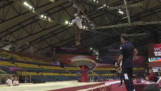 Simone Biles   Vault 1  World Championships   Podium Training