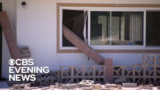 Southern California assesses damage after 7.1 magnitude quake