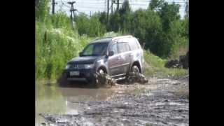 Mitsubishi Pajero Sport Off-road Test-Drive