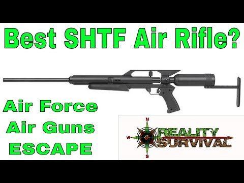 Best SHTF Air Rifle? The Air Force Air Guns - Escape