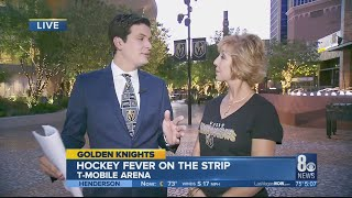 Golden Knights coverage at T-mobile Arena