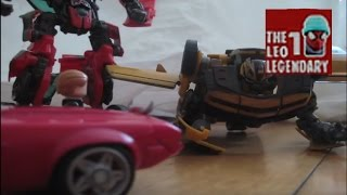 Transformers Age of extinction Official trailer #1 in stop-motion! (900 subscribers special!!)