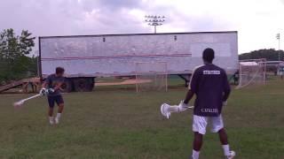 Lacrosse Shooting video